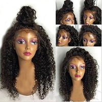 Charming Cheap Natural Wigs Black Afro Kinky Curly Long Wigs...