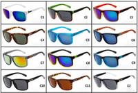 Yeni vz güneş gözlüğü erkek kadın moda trendi güneş gözlükleri yarış bisiklet spor açık güneş gözlükleri gözlük 004