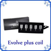 Bobines de remplacement pour Evolve Evolve Plus bobine Wax Vape Pen Evolve-D CDQ Quartz double vs VOOPOO PNP bobine