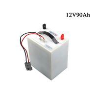 Batteria agli ioni di litio a ciclo profondo da 12V 90Ah Batteria ricaricabile da 12 volt per barca da pesca in vendita