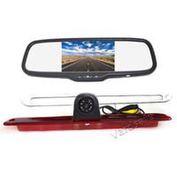 Vardsafe OE576W | Auto Bremslicht hinten Rückfahrkamera Clip-on Spiegel Monitor für VW Crafter