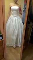 A Line Brautkleider 2018 Vintage Taschen Bogen China Vestidos De Novia Backless Plus Size Button Braut Brautkleider