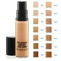 Maquillage Pro Longwear Concealer 9ML DHL Livraison gratuite Factory Direct
