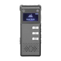 Multi-funzionale ricaricabile 8GB Digital Audio Voice Recorder portatile penna dictafono con display LCD supporto registrazione del telefono