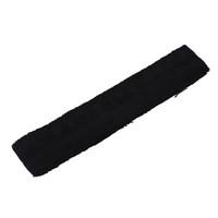 75 cm de comprimento Adhensive fita de tênis de raquete de absorção de suor toalha aperto preto