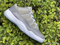 2018 Top 11AirJordan 11 Low Cool Grey 11S Basketball Shoes S...