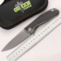 Зеленый шип F95 D2 лист складной Титан TC4 титановый сплав + G10 ручка, кемпинг охота карманный нож практические фрукты EDC инструмент