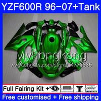 Body+Tank For YAMAHA YZF600R Thundercat 02 03 04 05 06 07 229HM.AA YZF 600R YZF-600R Pearl green hot 2002 2003 2004 2005 2006 2007 Fairing
