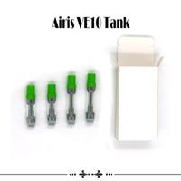 Airis VE10 бак серии Qcell оригинальные картриджи 0.5 мл 1.0 мл кварцевой ячейки катушки толщиной масляный картридж герметичный распылитель Liberty танк горячая