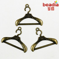 New Fashion 6pcs lot Charms Antique Bronze Plated Hanger All...