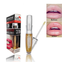 Ministar Lipp Extreme 3D Lip Lust Volume Plumping Hidratante Lipgloss Fashion Fashion Lips Maquiagem com óleo de gengibre
