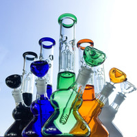 height 25cm heady glass bongs 4 arms tree perc dab rigs with...