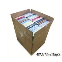 도매 2400Pcs / Lot 작은 화려한 종이 쥬얼리 디스플레이 케이스 웨딩 귀걸이 주최자 리본 파티 링 스토리지 선물 상자