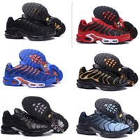 on sale e54ca 2a83f Nike Air Max Tn Plus Desconto Top quarity Das Mulheres Tênis Clássicos TN  homens Running Shoes