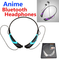 Anime Sports Bluetooth Wireless Headphones CSR 4. 0 Neckband ...