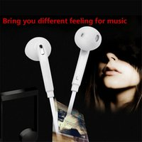 S6 Earphones 3. 5mm In- Ear Wired Headphones With Mic and Remo...