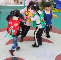 أطفال في الهواء الطلق لعبة الوالدين الروضة اقبض الذيل الصدرية لعبة معدات تدريب الطفل لعبة للأطفال الأسرة في الرياضة لعبة
