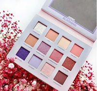 Nestest makeup eyeshadow NABLA SOUL 피는 12colors 아이 섀도우 팔레트 쉬머 무광택 아이섀도 고품질