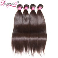 Longqi Hair Malaysian Straight Hair Weaving Non Remy Human B...