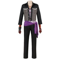 Ensemble Stars Costume de Cosplay UNDEAD Sakuma Rei Costume D'Halloween Uniforme