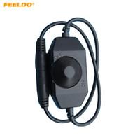 FEELDO Araba LED Parlaklık Ayarlamak Dimmer Kontrol Tek Renk LED Şerit Işık DC12V-24V # 5501