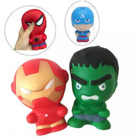 11CM Slow rising Rebound Squishy Toys Cartoon Spiderman Iron...
