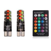 T10 RGB COB 12SMD Clearance lights Colorful Multi Mode Car L...
