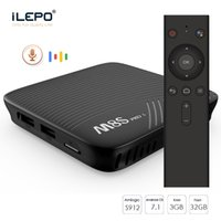 Mecool M8S Pro Google Sprachsteuerung Android TV 7.1 OS Smart Box S912 3 GB 16 GB / 32 GB Dual Wifi LAN Buletooth