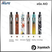 Authentisches Joyetech eGo AIO-Kit Neue Farbversion 2 ml Mit 1500-mAh-Batterie Auslaufsicheres erstes kindersicheres All-in-One-Tankverschlusssystem