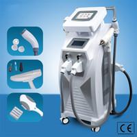 4 in1 OPT E- ضوء IPL RF YAG إزالة الشعر بالليزر آلة الوشم متعدد الوظائف آلة الجمال لعلاجات متعددة
