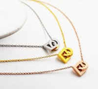 femail necklace new Explosive wild fashion double round buck...