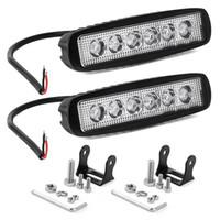 6 Zoll 18W 1200LM 6000K Scheinwerfer des Punkt-LED des Lichtstrahl-12V LED für Auto 4x4 4WD Offroad SUV ATV-LKW-Anhänger-Lampen-Motorrad