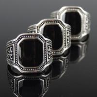 8 Photos Wholesale ceramic finger plates - Western Punk Black Enamel Men Rings Antique Silver Vintage Ceramic Ring & Wholesale Ceramic Finger Plates - Buy Cheap Ceramic Finger Plates in ...