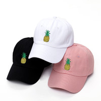 Men & Women Pineapple Dad Hat Baseball Cap Polo Style Uncons...