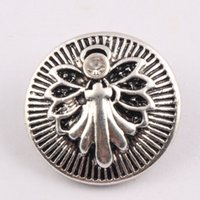 NOOSA Ginger Snap Charms Full Bloom dragonfly Button Jewelry...