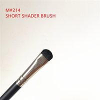 MACJAPAN 214 Short Shader Brush - EyeSmudge Eyeshadow Lash L...