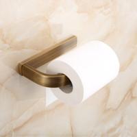 Acessórios do banheiro Retro higiênico Rolo de papel titular de alta qualidade Antique Bronze acabamento Montado de parede de cobre de cobre titular do tecido