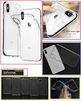 For Iphone X Cases Soft Clear TPU Silicone Gel back Phone co...