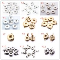 12 Styles Noosa chunks 12MM 18MM Ginger Snap Button Base Jew...