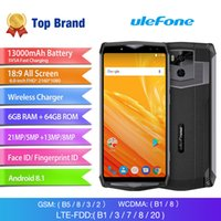 Ulefone Power 5 Mobile Phone Android 8.1 13000mAh MTK6763 Octa Core 6.0