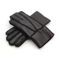 Free Shipping - High Quality Men' s Leather Gloves Warm ...