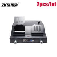 80٪ من 50W عاصفة ثلجية الشلال ورقة آلة النثار المهنية LEDStage تأثير تركيبات الإضاءة 230V DJ ديسكو حفلة شحن مجاني