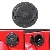 Крышка топливного бака автомобиля Крышка бензобака в стиле B для Jeep Wrangler С 2007 по 2017 год Внешние аксессуары для авто ABS Metal