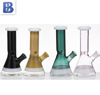 7,8-Zoll-Glaspfeife mit Glas Downstem Bowl Dicken Glas Bongs 18mm Female Bubbler Wasser-Rohr-Banger Hanger