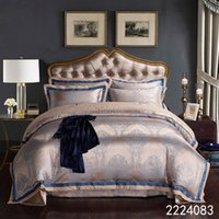 Luxury Bedding Set Jacquard Queen King Size Duvet Cover Set wedding Bedclothes Bed Linen bed sheet pillowcase bed set