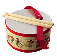 Drum Wood Kids Early Educational Musical Instrument for Chil...