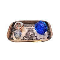 Rolling Tray Set Metal Tobacco Rolling Tray Handroller Roll ...