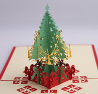 Christmas 3D Cards christmas greeting card Pop Up Cards Gift...