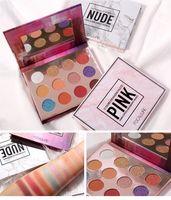 Nouveau HOT Marque FOCALLURE 12 couleurs palette de fard à paupières Matt Shimmer Nude Maquiagem professionnel maquillage 3styles expédition DHL
