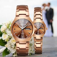 lovers Gold watch fashion Quartz clothing Watches Men Casual...